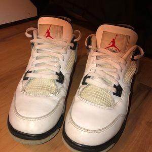Air Jordan Retro IV 4 'Cement' Size 7y